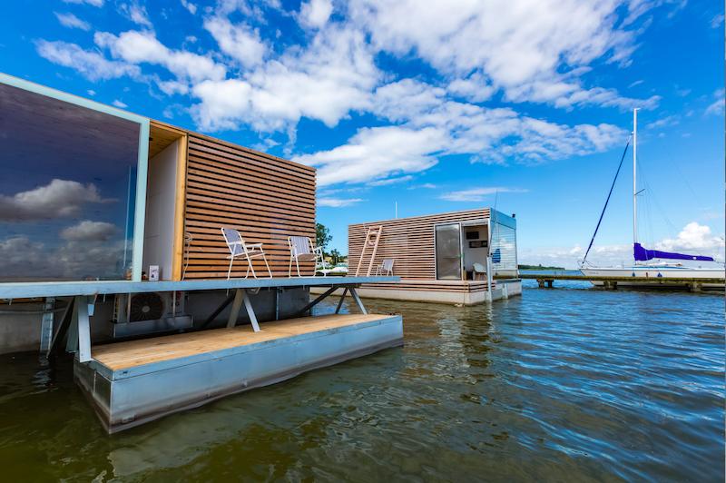 miejsca z klimatem nad morzem HT Houseboat