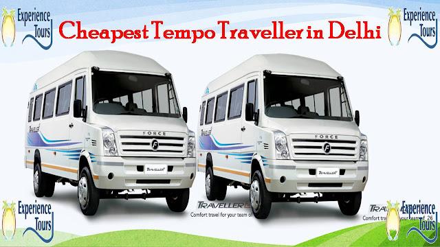 How to Book Cheapest Tempo Traveller in Delhi