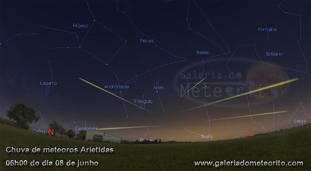 Chuva de meteoros Arietidas