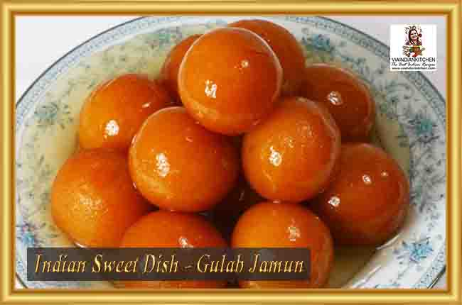 Indian Sweet Dishes - Gulab Jamun