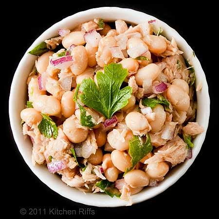 White Bean and Tuna Salad
