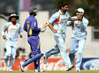 India vs Sri Lanka 11th Match CB Tri-Series 2008 Highlights