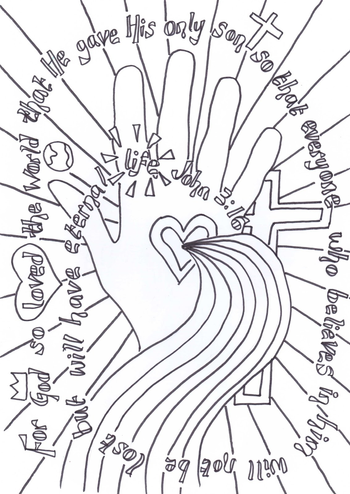 Flame Creative Children S Ministry Reflective Colouring Pages
