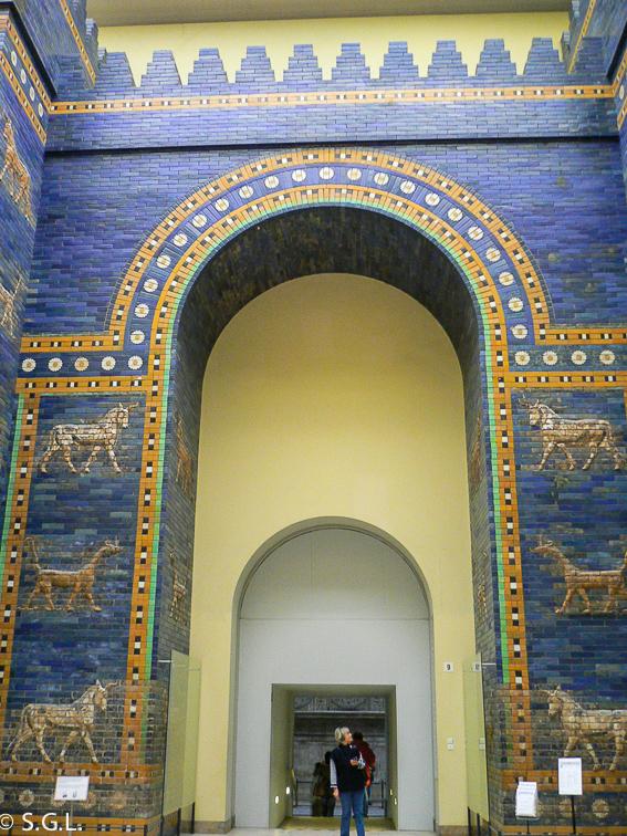 Puerta de Ishtar. Museo de pergamo en Berlin