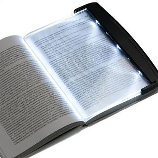 لوح ضوئي لقراءة الكتب الورقية led