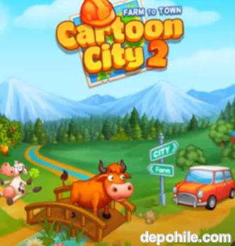 Cartoon City 2 Farm to Town v1.78 Para Hileli Apk İndir 2020