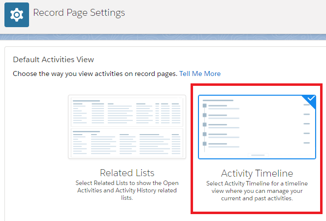 Infallible Techie: Activity Tab disappeared in Lightning in Salesforce