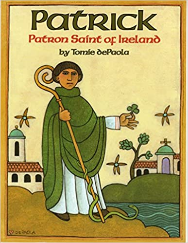 Patrick Patron Saint of Ireland the night before st. patrick's day