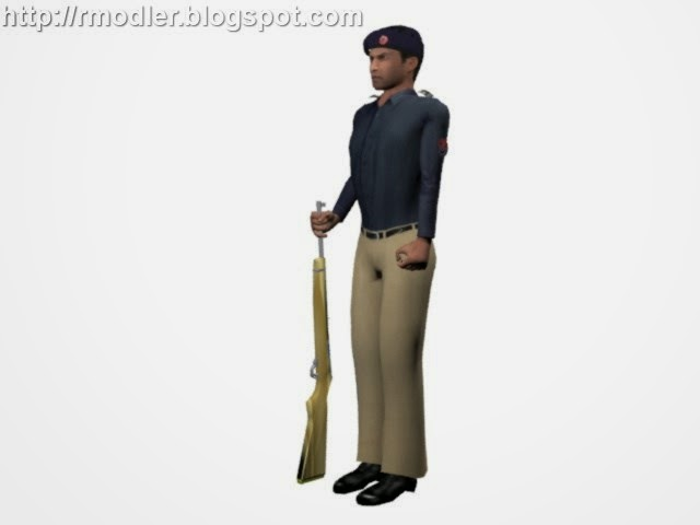 3d Modeling & Game development: Game ready poses of 3d