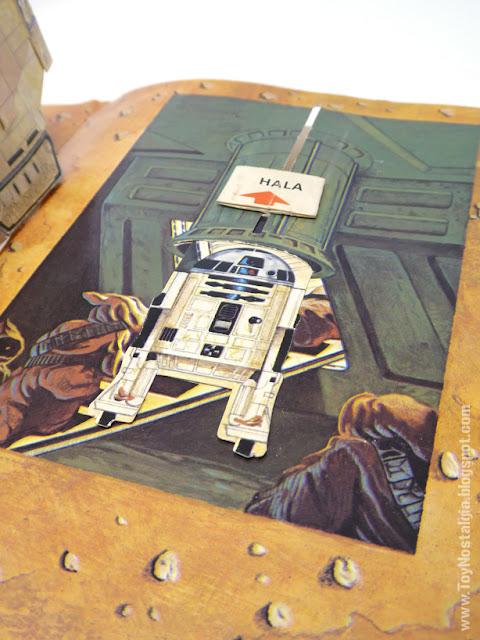 LA GUERRA DE LAS GALAXIAS - Un libro Pop UP  1978 - Editorial NORMA - Libros Animados  Ib Penick