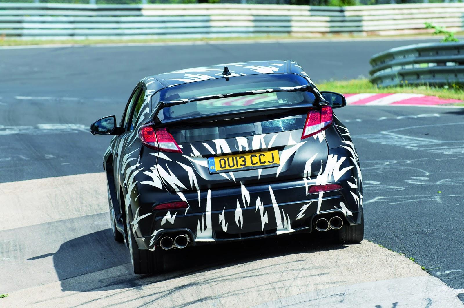 New Honda Civic Hatchback Mk9 2013: Honda Civic Type R 2015
