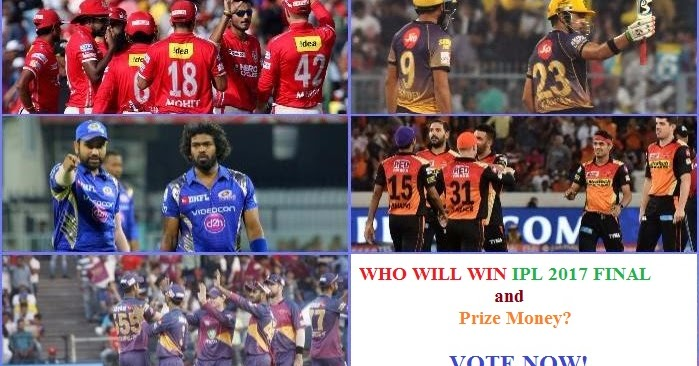 Who Will Win IPL 2017? Vivo IPL 10 Voting Poll Prediction ...