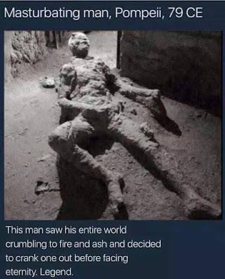 Pompeii das Ende der Welt - lustige Bilder mit Text