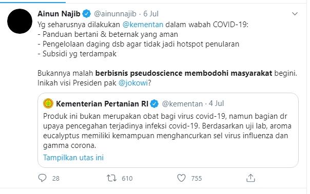 Soal Kalung Anti Corona, Emha Ainun Najib: Ini Pembodohan!