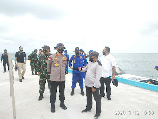 Sambut Kunjungan Kapolda Jambi Di Pulau Berhala, Ini Penjelasan Camat Singsel.