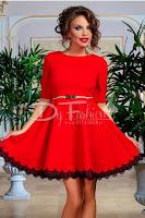 Rochie Temporary Red • Rochie de ocazie