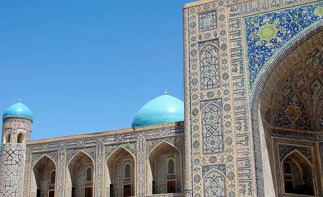 سمرقند من أشهر مدن دولة أوزبكستان