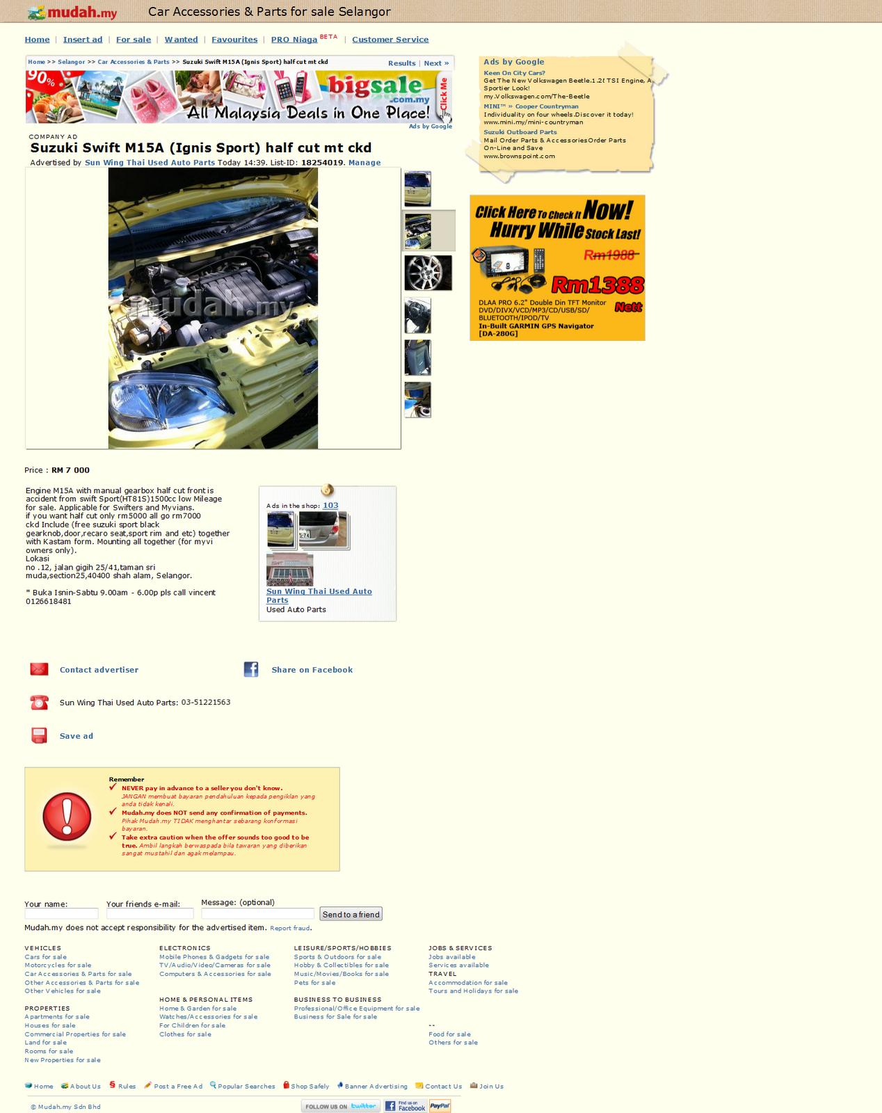 Mudah My Malaysia Sale Car #Mudah My Car For Sale #Home Mudahmy