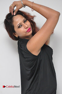 Model Sonia Pictures in Black Dress at Yes Mart Event  0023.JPG