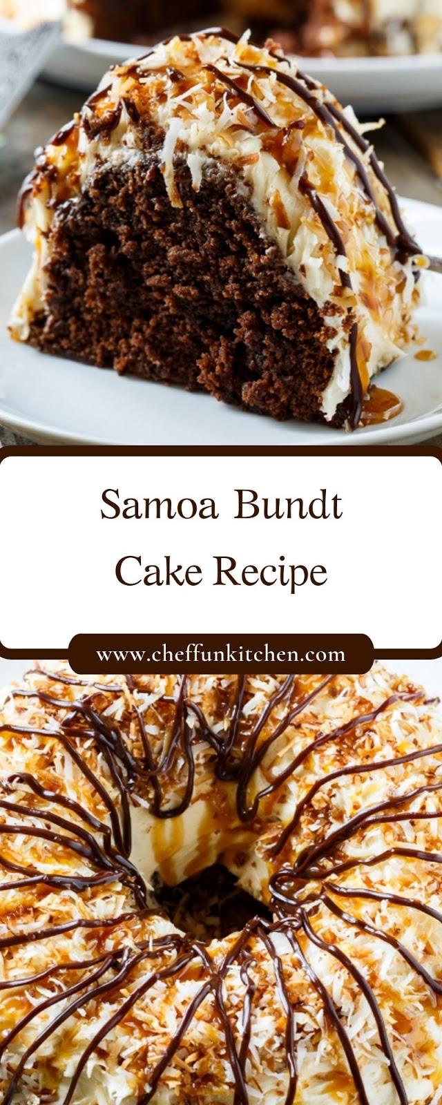 Samoa Bundt CakeRecipe