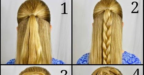Groovy Rose Braid Bun Hairstyle Step By Step Girly Island Short Hairstyles For Black Women Fulllsitofus