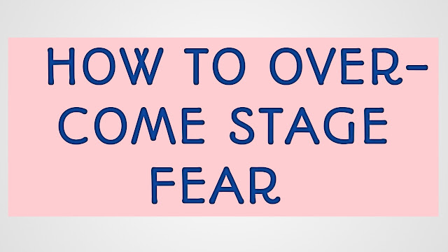 How To Overcome Stage Fear While Speaking Tips In English