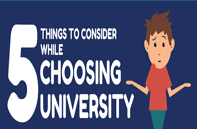 5 Things To Consider While Choosing University