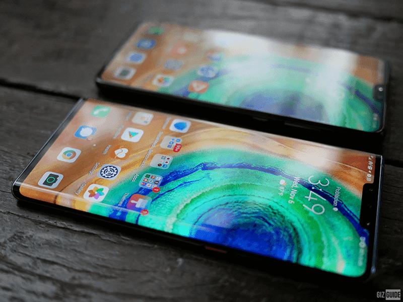Horizon OLED screen of Mate 30 Pro