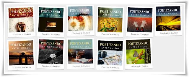 Poetizando entre amigos, Revista Literária, literatura, poesia contemporânea,