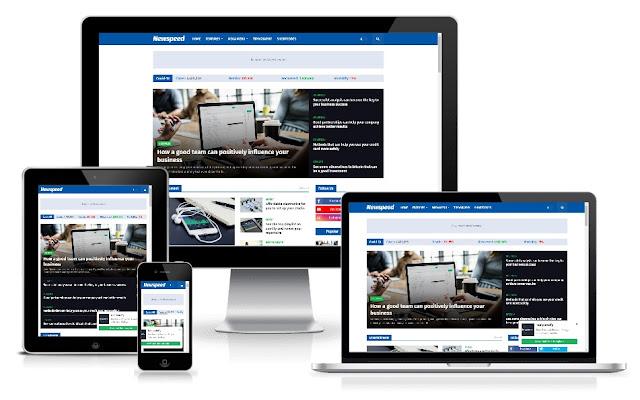 Newspeed Professional News & Magazine Premium Blogger Template