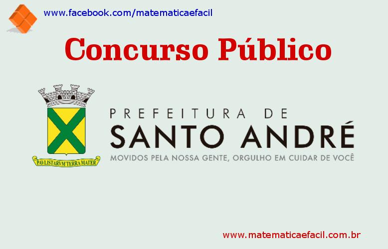 Concurso público para a Prefeitura de Santo André