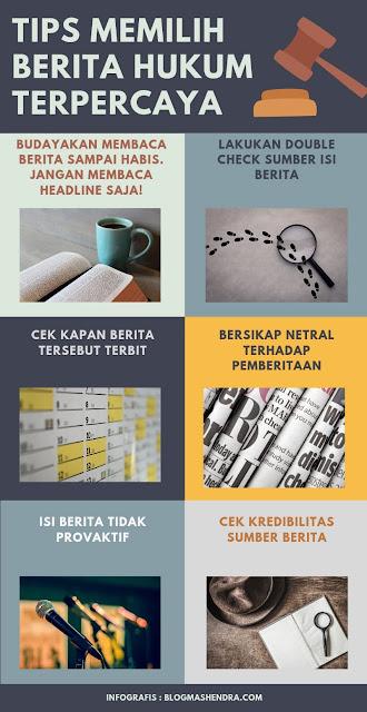 6 Tips Dalam Memilih Berita Tentang Hukum yang Terpercaya