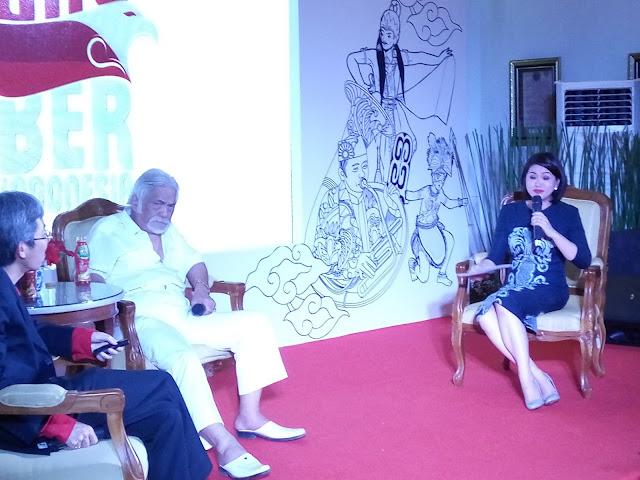 Di Pentas Javana, Remy Sylado Bicara Indonesia