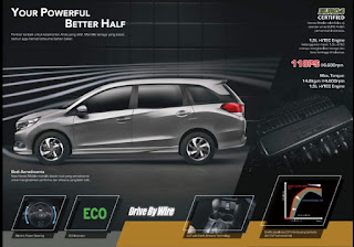 Promo Diskon Terbesar, Honda Mobilio, RS, Manual, Matic