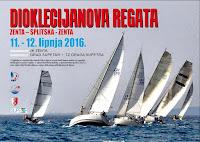 Dioklecijanova regata, Zenta Split - Splitska - Zenta Split slike otok Brač Online