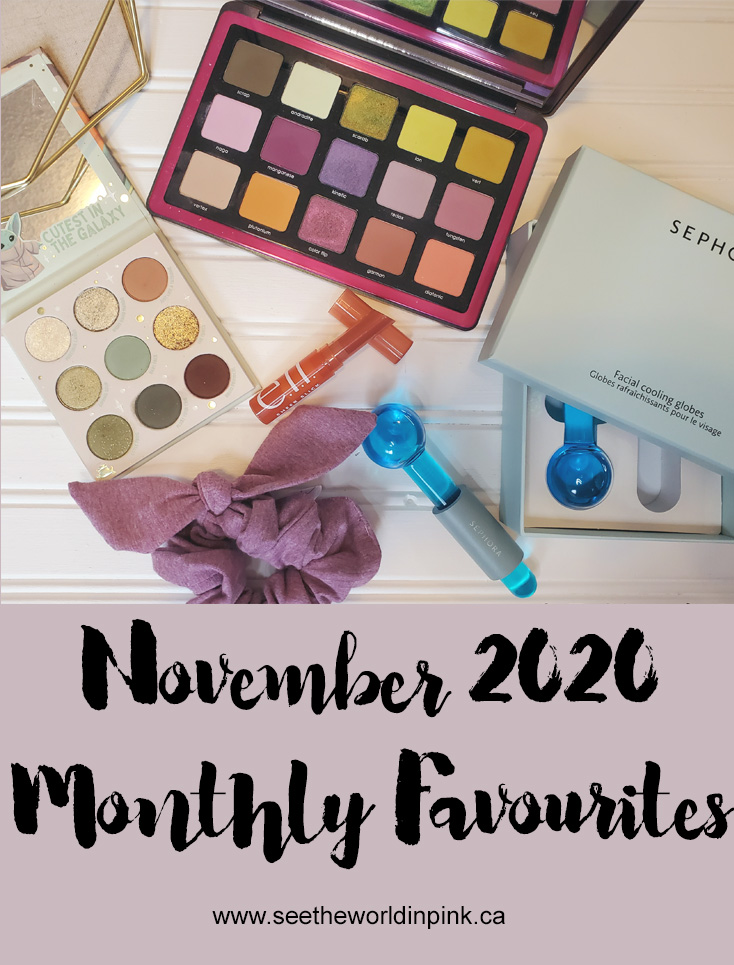 November 2020 - Monthly Favourites!