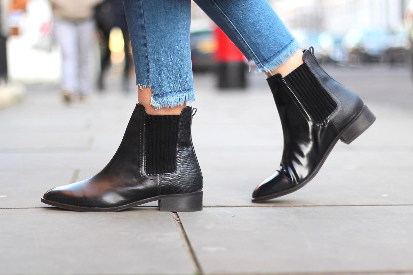 kurt geiger flat ankle boots peexo