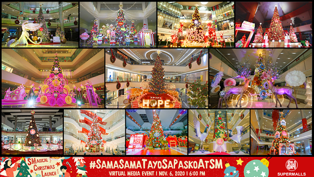 It's Christmas time at SM Supermalls!