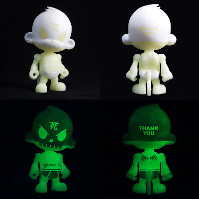Thank You The Blank Resin Figure by Huck Gee