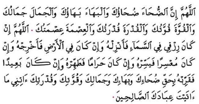 Bacaan Dzikir Dan Doa Sholat Dhuha Sesuai Sunnah Rasulullah Saw