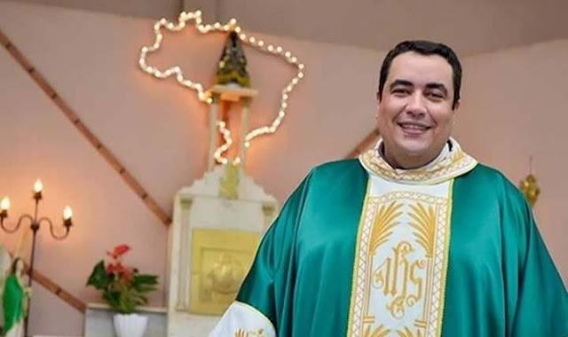 Padre Rafael Henrique se despede de Nova Aliança