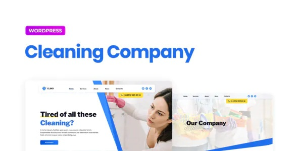 Best Cleaning Business Elementor Template Kit