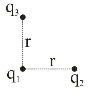 Pembahasan Soal UN Fisika SMA 2016 no 31 tentang Gaya Coulomb