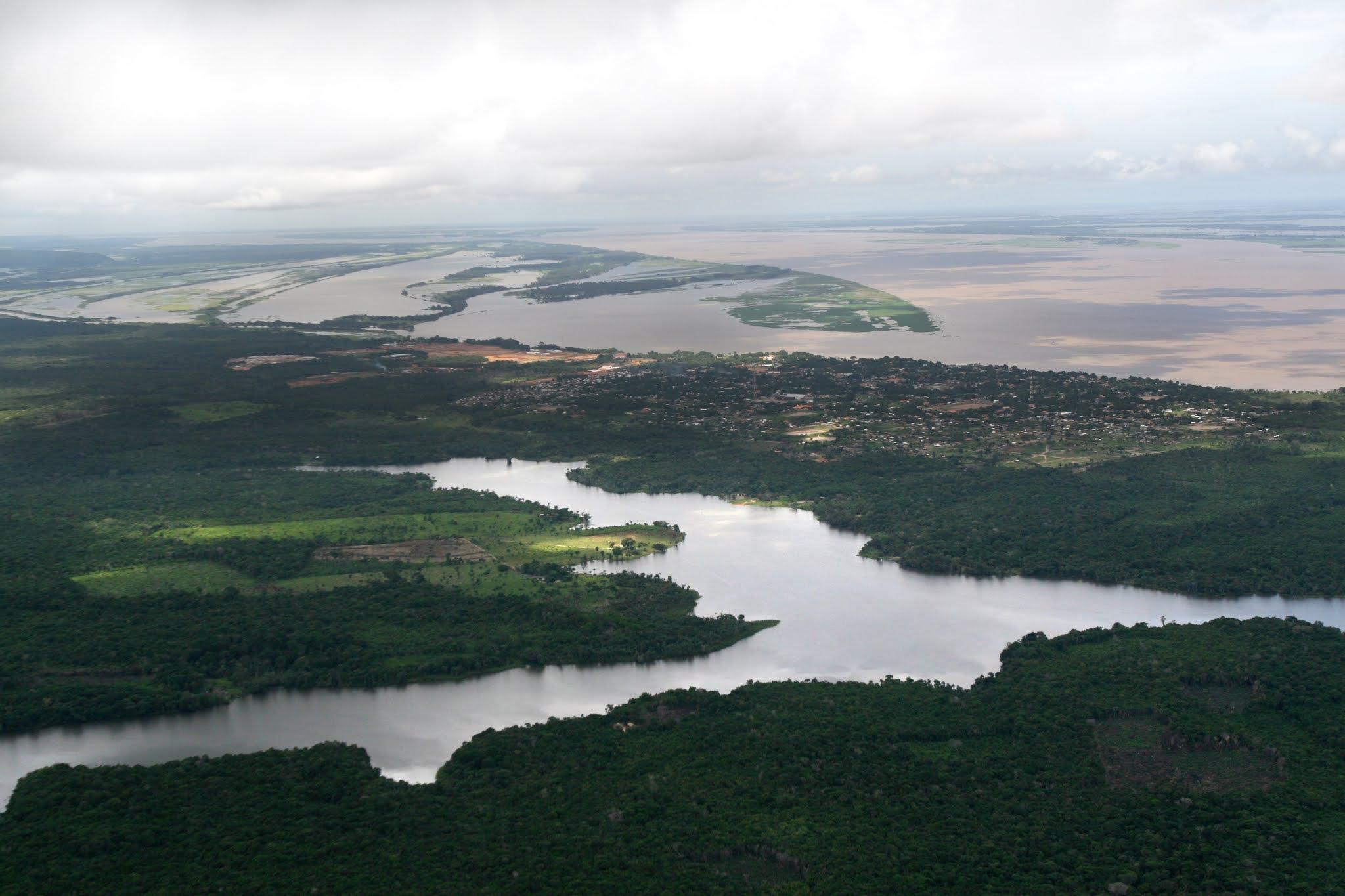Lago do Jará, em Juruti
