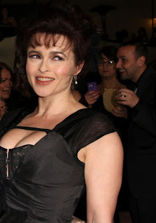 Helena Bonham Carter, boobs, hot, sexy, Golden Globe Award
