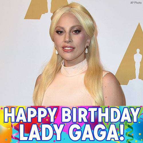 Lady Gaga's Birthday Wishes