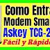 Modem Router Smarth Askey TCG220 Movistar Entrar y Configurar