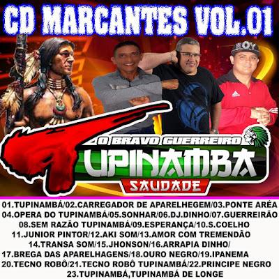 CD TUPINAMBÁ SAUDADE - MARCANTES VOL.01