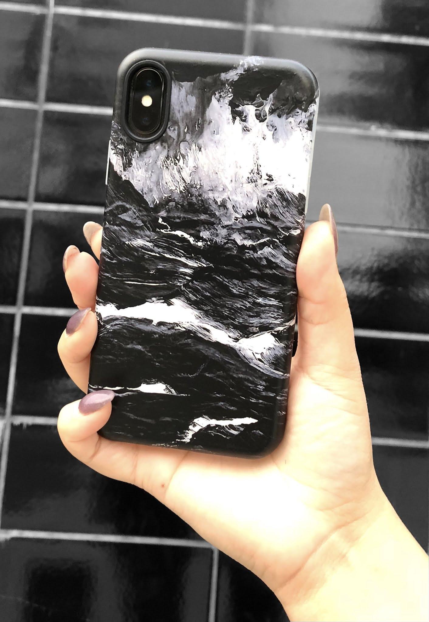 custom case marble