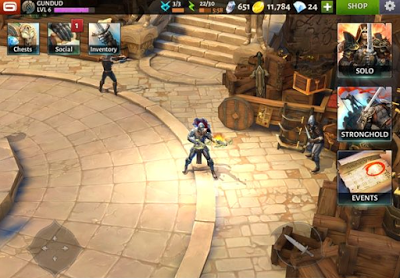 Download Dungeon Hunter 5 Apk Mod Data Screenshot
